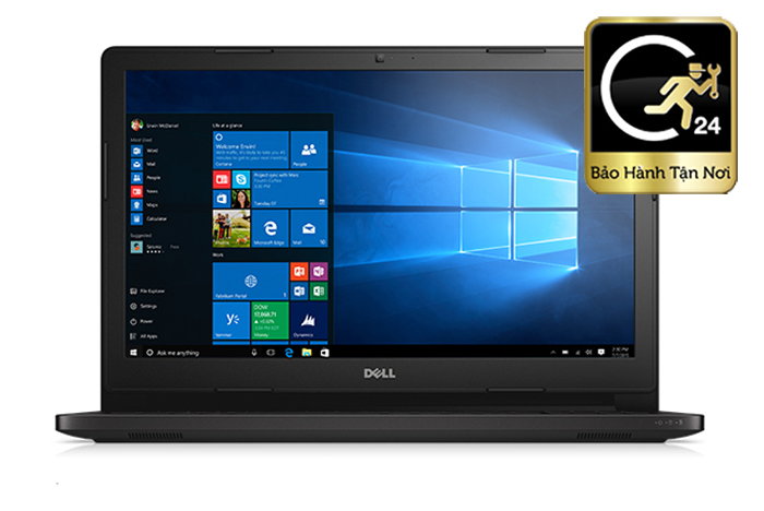 Laptop Dell Vostro 3568 - XF6C621 KabyLake FHD VGA 2GB Fingerprint
