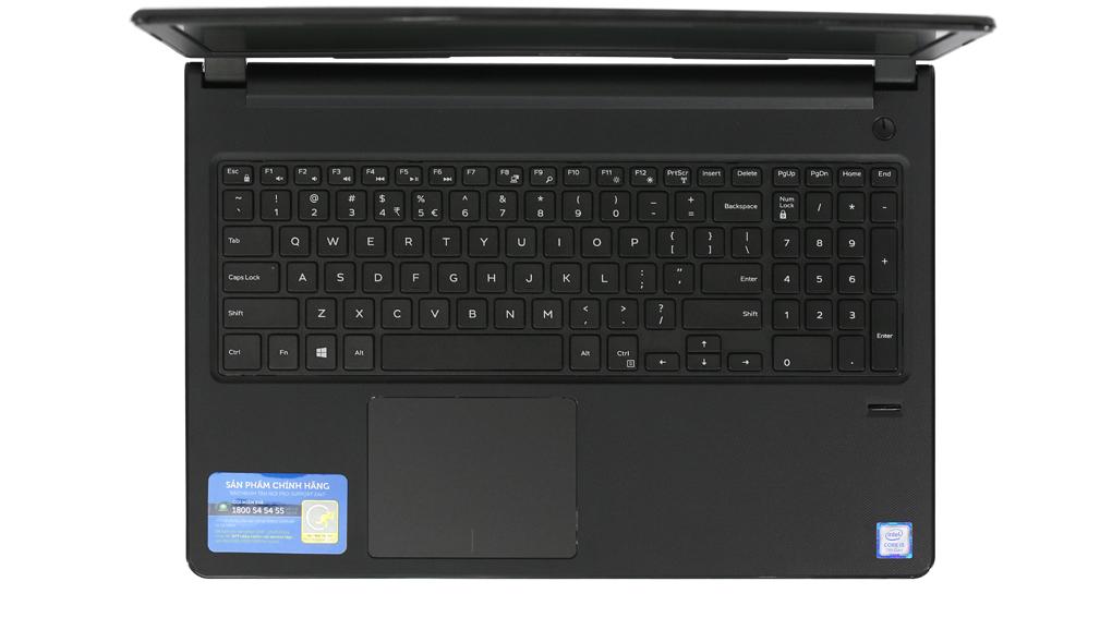 Laptop Dell Vostro 3568 - XF6C611 Core-i5 HDD 1TB Win10