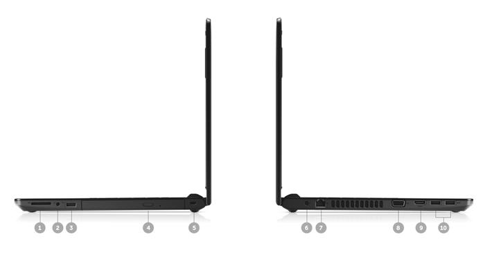 Laptop Dell Vostro 3468 - 70087405 KabyLake Fingerprint