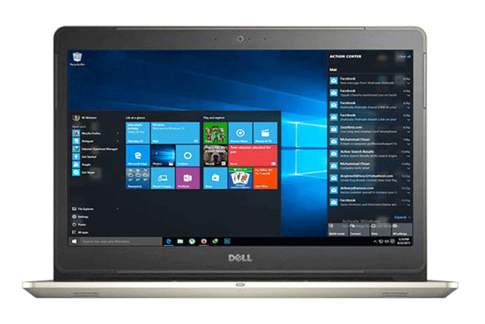 LAPTOP DELL VOSTRO 5568 - 077M52 Kabylake WIN10