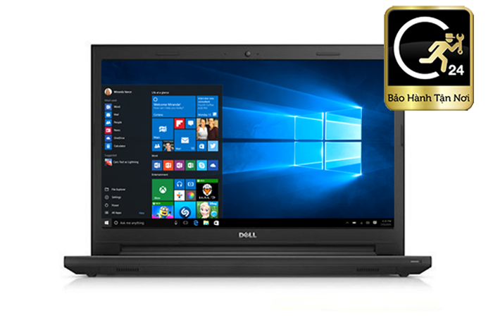 Laptop Dell Inspirons 3567A - P63F002-TI36100 Core i3 Kabylake RAM 6GB