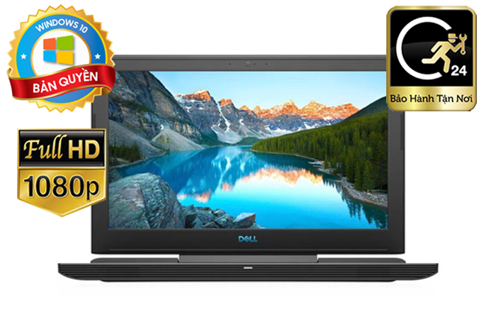 Laptop DELL Inspiron G7 N7588A P72F002  Core i7 Coffee lake,GTX 1050 4GB, Win 10