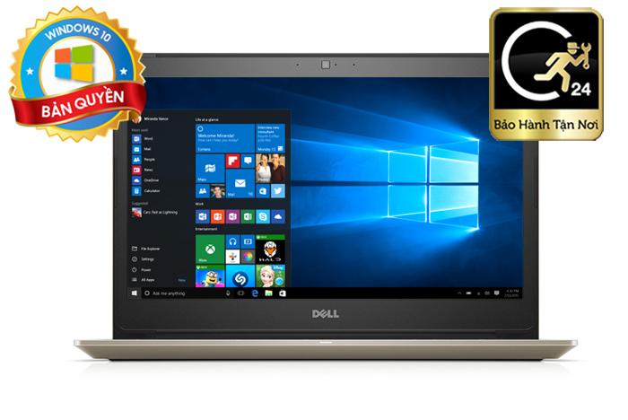 Laptop Dell Vostro 5468 VTI5019W KabyLake Win10, Gold